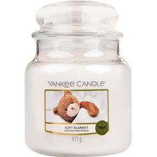 Aromatická svíčka střední Soft Blanket