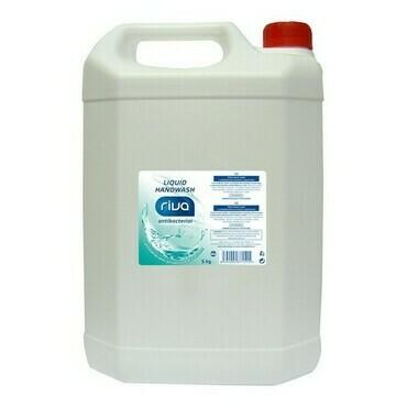 Tekuté mýdlo RIVA s antib přísadou a glycerinem 5 kg  11820ca0ab
