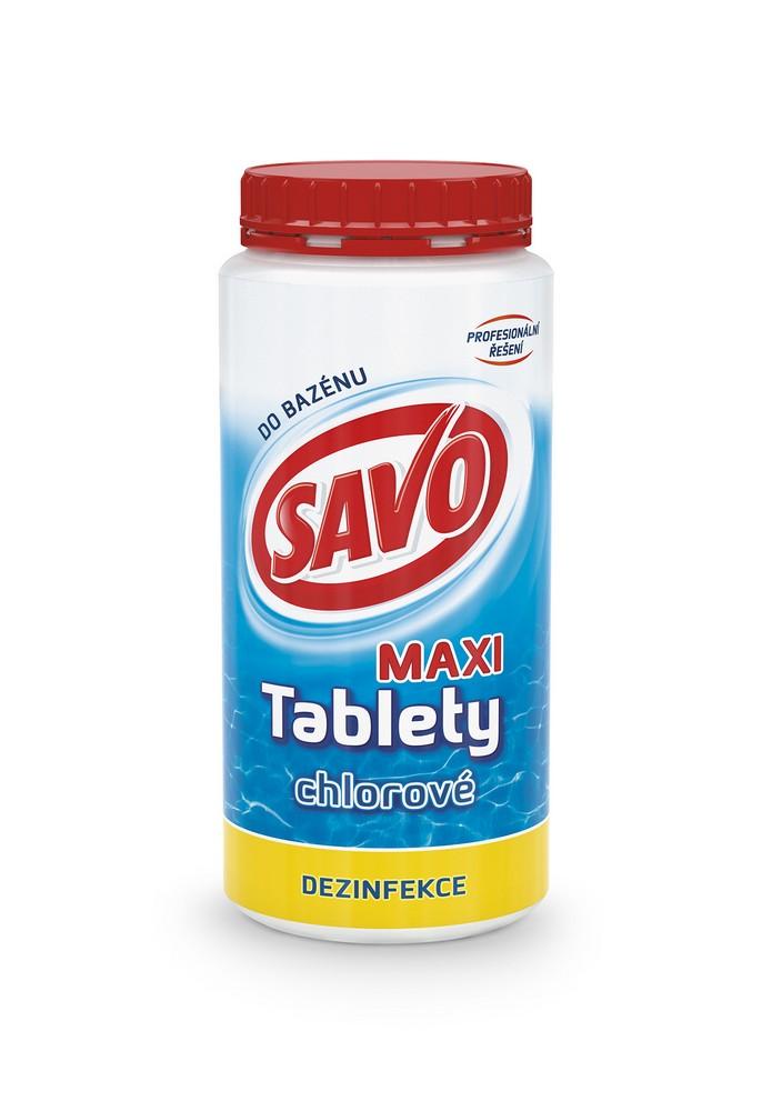 SAVO chlorové tablety maxi 1,4 kg, cena za ks
