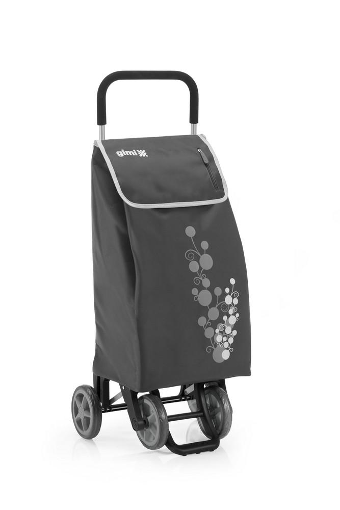 Nákupní vozík GIMI Twin šedý 56 l