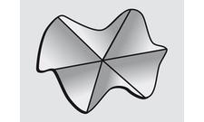 Vnější roh Rhenofol 90° (vlnovec), šedá