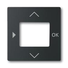 Kryt ovladače časovacího nebo termostatu Future linear mechová černá