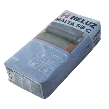 Malta zdicí HELUZ SBC na broušené zdivo 20kg
