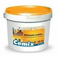 Omítka silikonová Cemix zatíraná 1,0 mm bezpř., 25 kg
