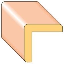 Lišta rohová R5 smrk nastavený 25×25×2000 mm, 25 ks/bal.