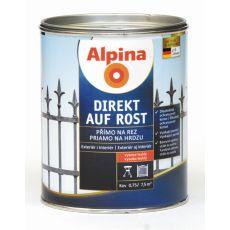 Lak na kov Alpina Direkt A Rost 2,5 l kladívkový antracit