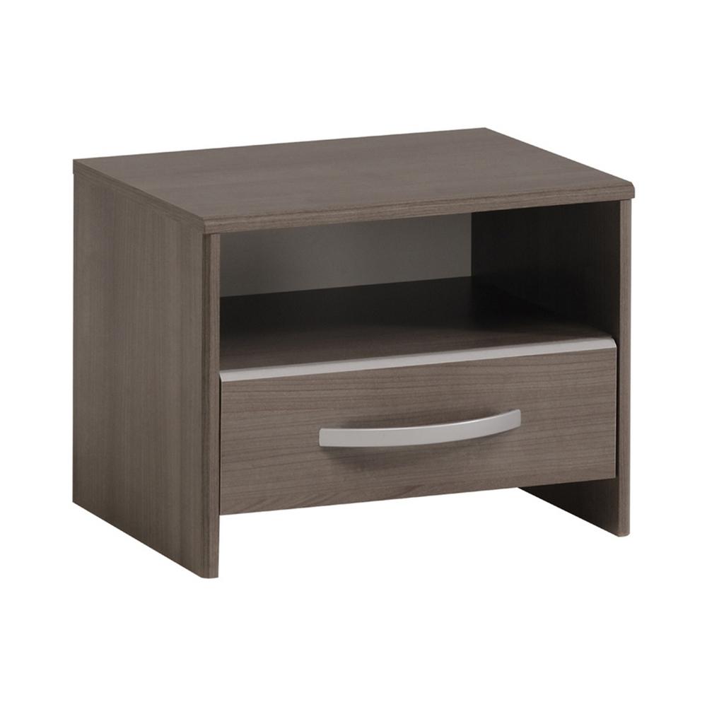 Noční stolek EVA stříbrný ořech, cena za ks