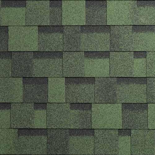 Asfaltový šindel IKO Cambridge Xpress 43 Amazon zelená