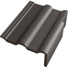 BETONPRES EXCLUSIV Okrajová pravá taška Břidlicově černá