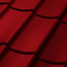 Velkoformátová profilovaná plechová střešní krytina SATJAM TREND SP25 RAL 3009 červenohnědá
