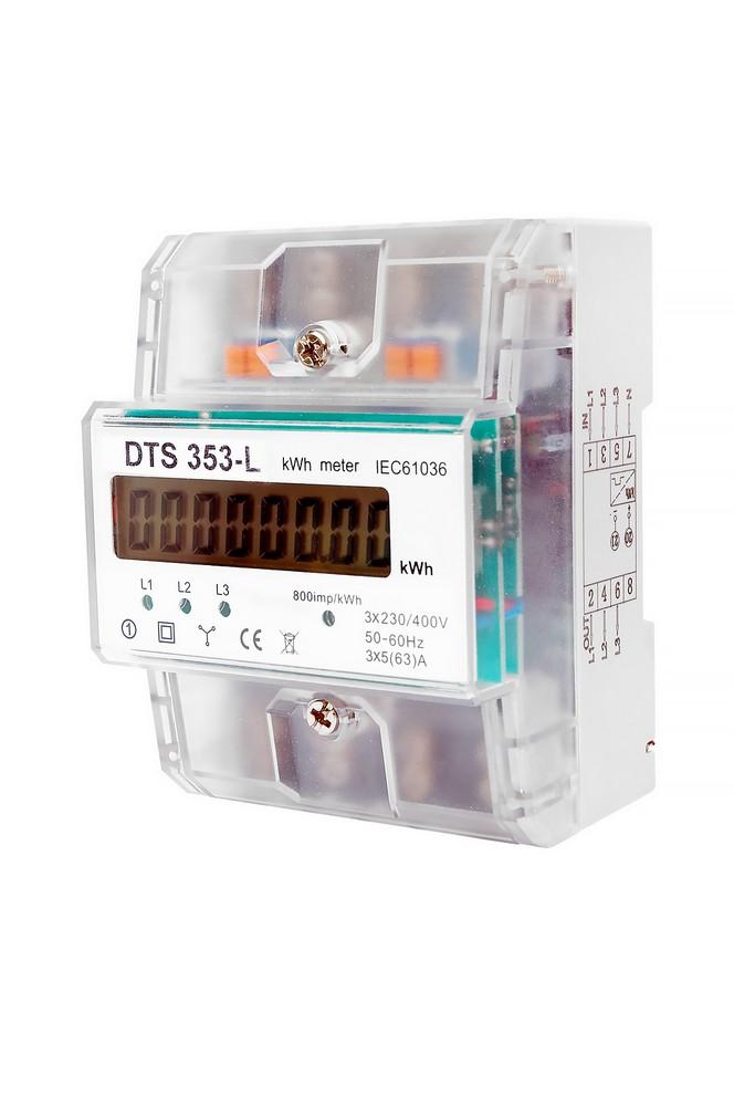 Elektroměr DTS 353-L 80A 3F 1tarif, cena za ks