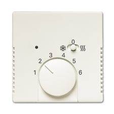 Kryt termostatu s posuvným přepínačem Future linear hliníková stříbrná
