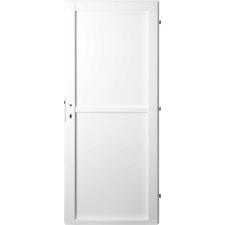 Dveře ocelové jednoplášťové jednokřídlé levé barva RAL 9010