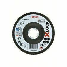Kotouč brusný lamelový Bosch X571 Best for Metal X-LOCK 125×22,23 mm 120 10 ks