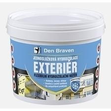 Jednosložková disperzní hydroizolace Den Braven exteriér, 13 kg