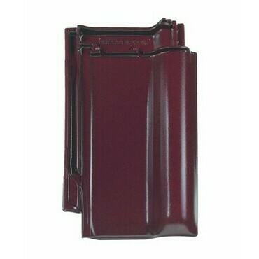 BRAMAC Rubín 13 základní taška glazura červenohnědá