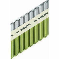 Hřebíky HILTI 3,1x90 D34, hladké (3000ks/3x plyn GC32)