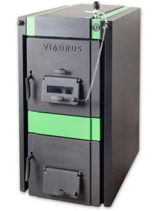 Litinový zplyňovací kotel pro spalování dřeva a uhlí VIADRUS Hercules U32 6 čl. 21/19kW (model 2019)