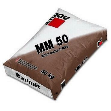 Malta zdicí Baumit MM 50 40 kg