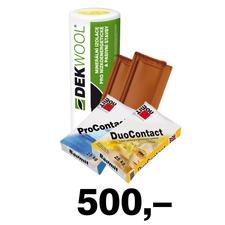 Poukaz na odběr zboží a služeb ve Stavebninách DEK v hodnotě 500 Kč