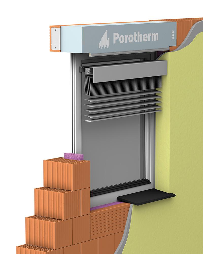 Překlad a schránka Porotherm Vario UNI 100