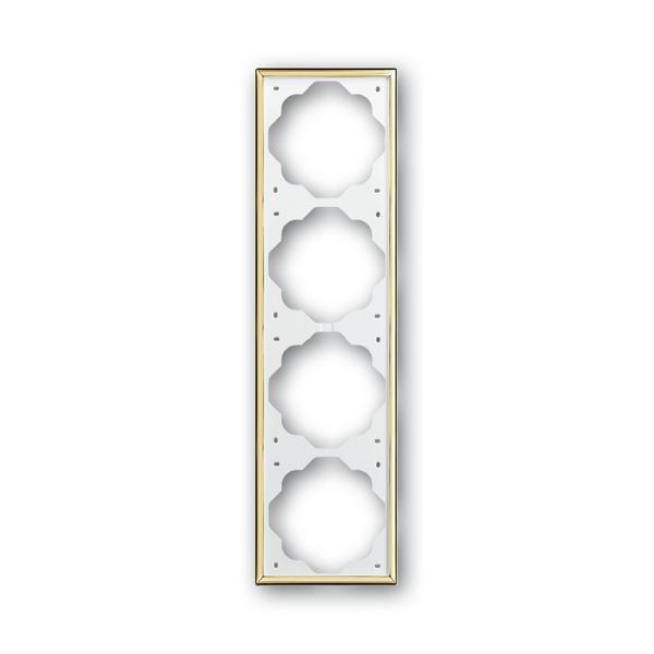 Rámeček Impuls, vodorovná i svislá montáž, zlatá