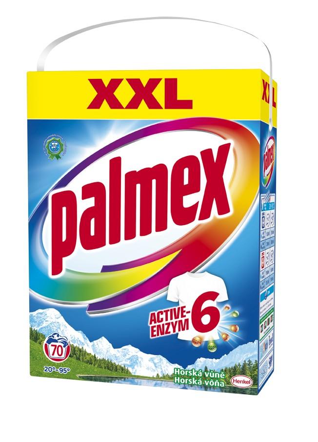 Prací prášek PALMEX Horská vůně box 70 praní, cena za ks
