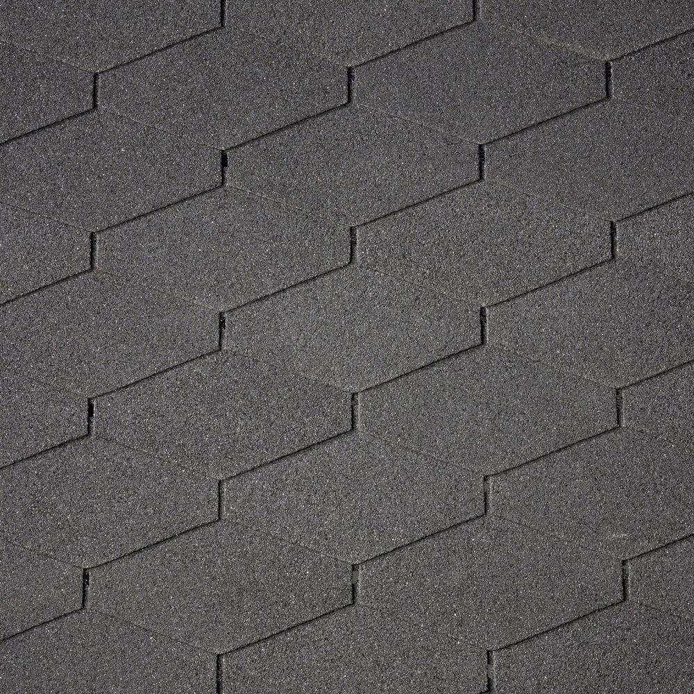 Asfaltový šindel IKO Diamant Plus 01 Černá