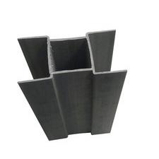 Pozinkovaný držák podhrabové desky o výšce 300 mm na průměr sloupku 48 mm