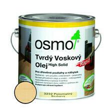 Olej tvrdý voskový Osmo Rapid 3232 bezbarvý 2,5 l
