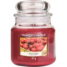 Vonná svíčka Classic střední Black Cherry