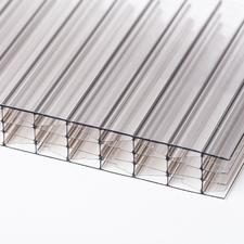 Polykarbonátová dutinková deska MULTICLEAR 16 STRONG 6W bronz s UV ochranou 2100×4500mm