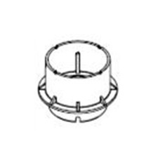 Nástavec pro stavitelný terč 55-95mm (25ks/bal), set 9429