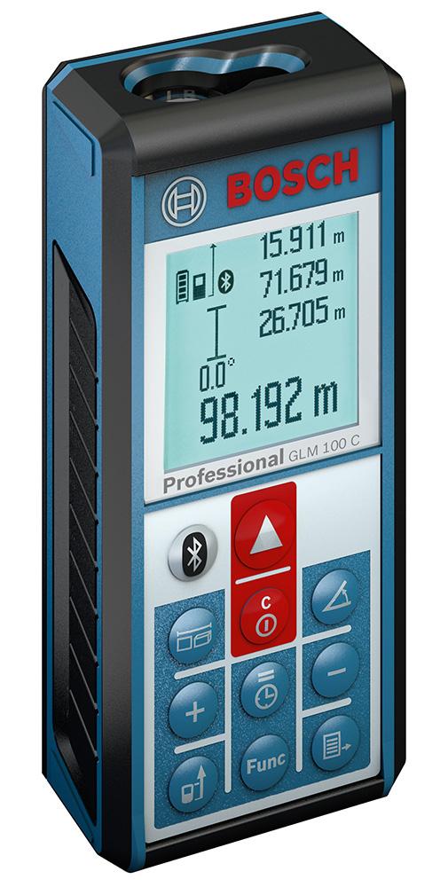 Laserový měřič vzdálenosti Bosch GLM 100 C Pro