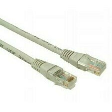 Kabel Patch CAT5E UTP 1 m, C5E-155GY-1MB