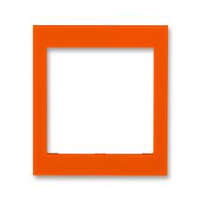 Kryt rámečku 55×55 střední Levit oranžová