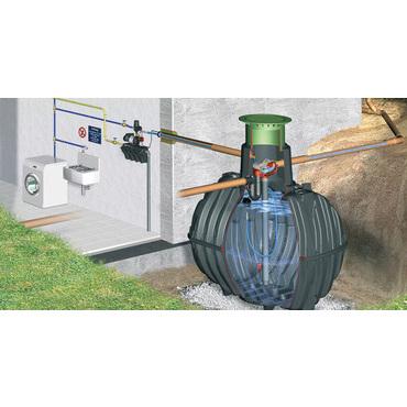 Sestava nádrže na dešťovou vodu Graf Carat Eco Plus, 6 500 l