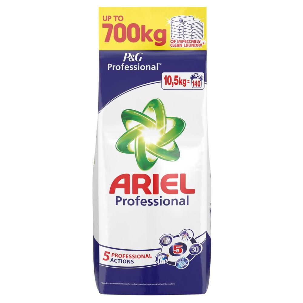 Profesionální prací prášek ARIEL Regular 140 praní / 10,5 kg, cena za ks