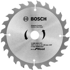 Kotouč pilový Bosch Eco for Wood 160×20×2,2 mm 24 z.