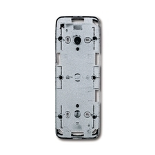Krabice přístrojová nástěnná dvojnásobná Future linear hliníková stříbrná