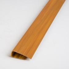 Profil okrajový plastový olše 3000 mm