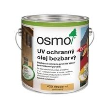 Olej UV ochranný Osmo 420 extra bezbarvý, 3 l