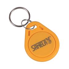 Sada RFID žetonů Sanela SLZA 51, 50 ks/bal., barva žlutá