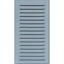 Průvětrník hliníkový M&D 150×300 mm bílá