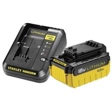 Akumulátor+nabíječka Stanley FatMax FMC694M1-QW 18 V 4 Ah