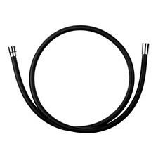 Hadice sprchová Novaservis BLACK/150,5 plastová 150 cm černá