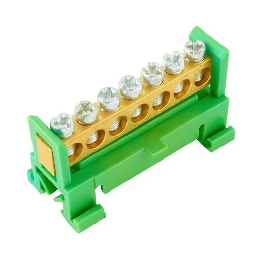 Můstek zelený PE7, cena za ks