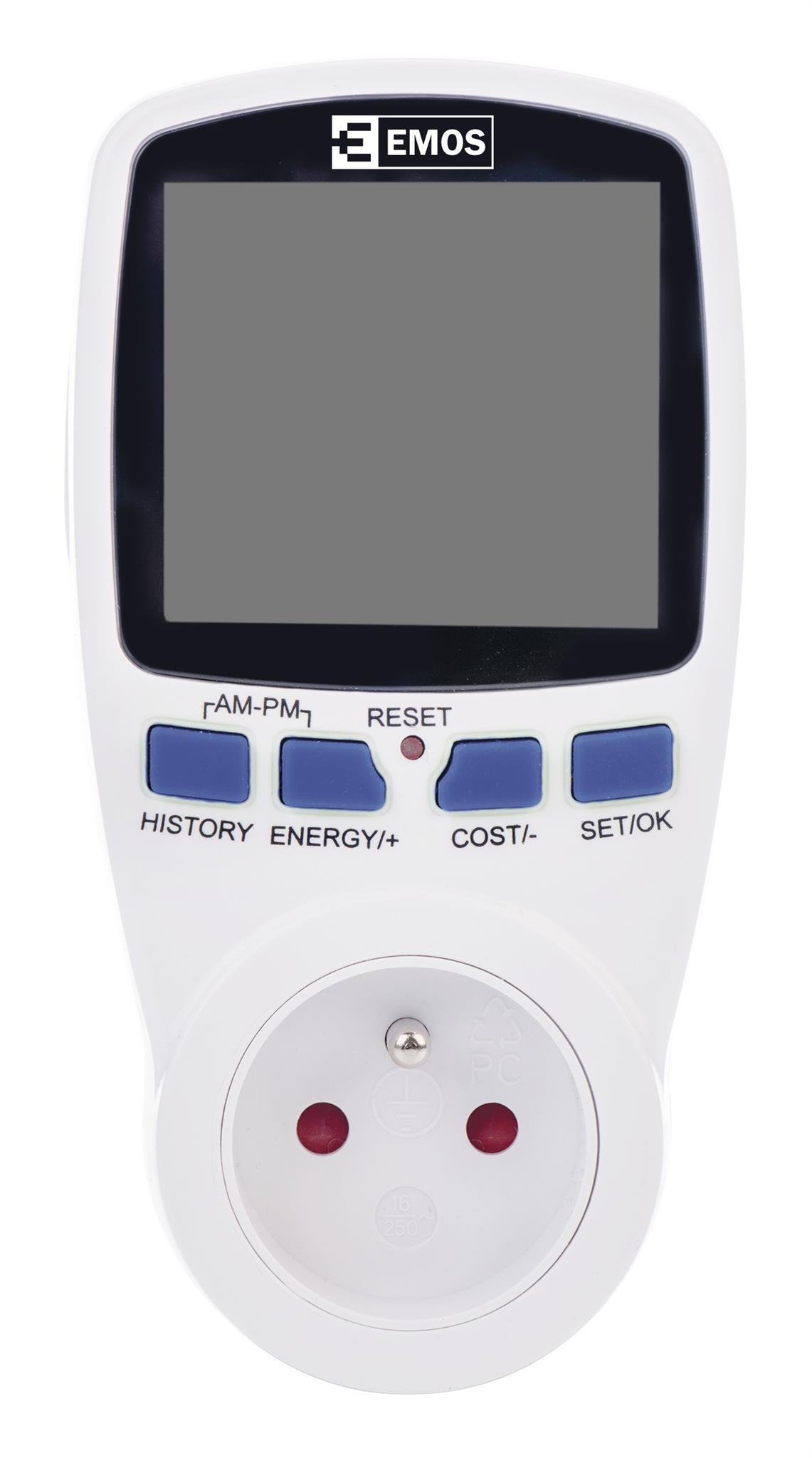 Měřič spotřeby energie EMOS WATTMETER P5801