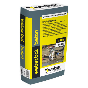 Suchá betonová směs Weber.bat beton, 25 kg