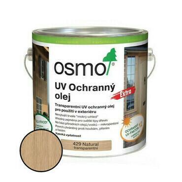 Olej UV ochranný Osmo 429 extra natural, 0,75 l
